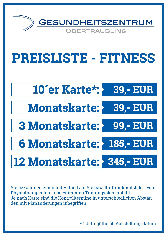 Angebot Fitness
