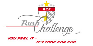 Rush Challenge Logo - mit you feel it